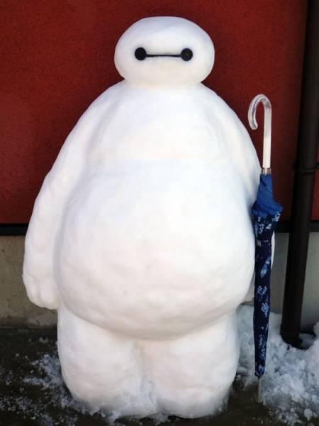 ハイクオリティな雪像の画像(8枚目)