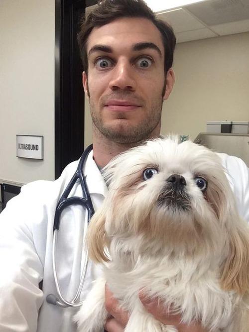 動物大好きイケメン獣医さんと動物の幸せそうな画像の数々!!の画像(19枚目)