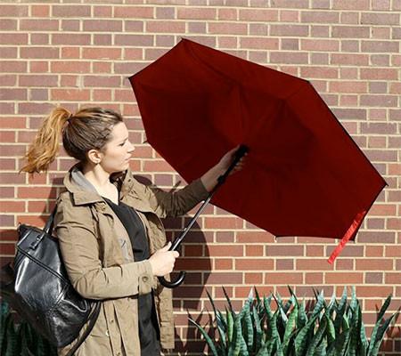 裏表が逆に折りたためる傘の画像(5枚目)