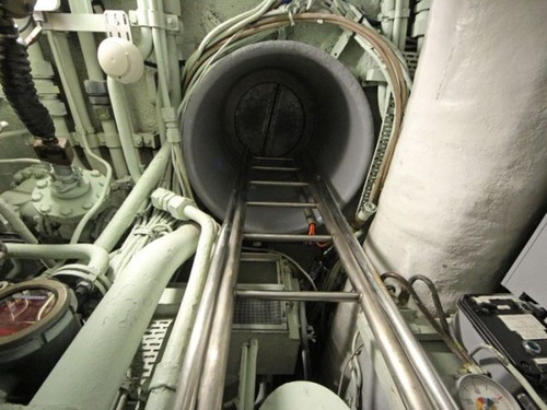 原子力潜水艦の内部の画像(9枚目)