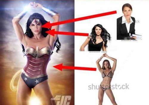 セクシーな女性のポスターの作成方法がよく分かる画像!の画像(6枚目)