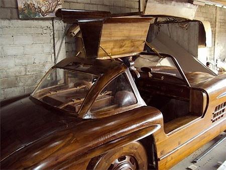木製のメルセデス・ベンツ06