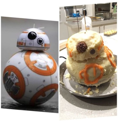 作ったお菓子と成功例の比較の画像(5枚目)