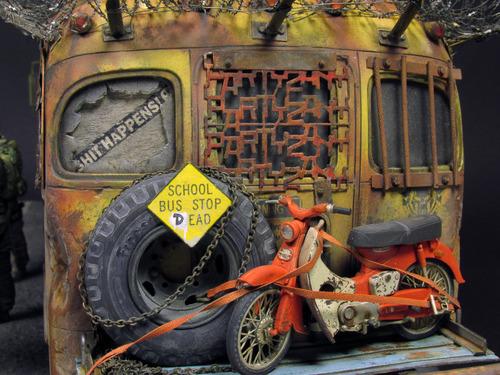 【画像】単なるバスのプラモでも超本気で作ると凄いことになるwwwの画像(58枚目)