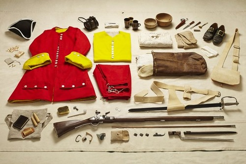 大昔から現在の兵士の装備を並べた画像がかっこよくて心ときめくwwwの画像(7枚目)