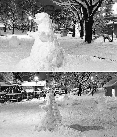 ハイクオリティな雪像の画像(19枚目)