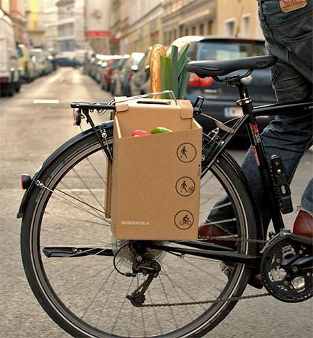 地球に優しい!手で持って運べる自転車用のバック!!の画像(7枚目)