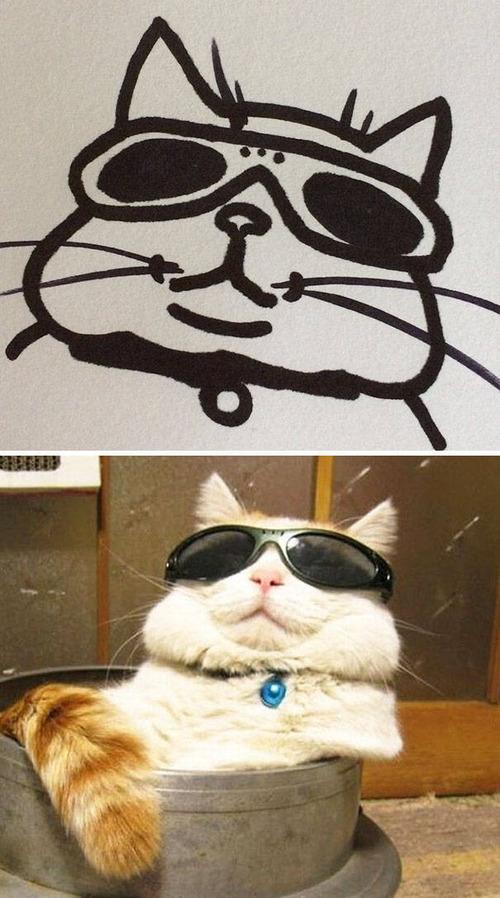 猫のイラストの画像(17枚目)