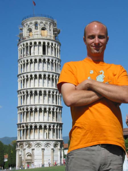 ピサの斜塔の記念撮影の画像(31枚目)