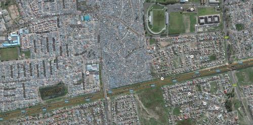 アフリカのケープタウンは富裕層と貧困層の住宅地3