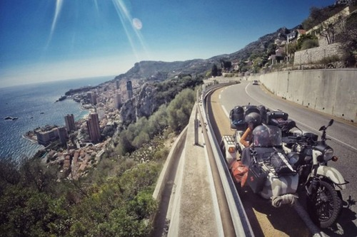 【画像】1台のバイクで家族3人が41カ国を4ヶ月で制覇!!の画像(30枚目)