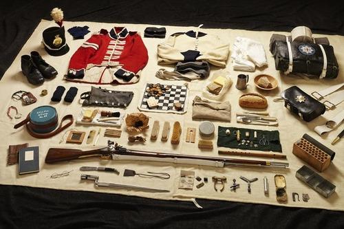 大昔から現在の兵士の装備を並べた画像がかっこよくて心ときめくwwwの画像(8枚目)