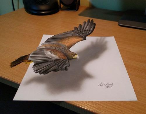 飛び出して見える3Dアートの画像(1枚目)