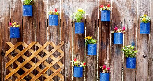 【画像】狭くても大丈夫!小さな植木が綺麗に飾れる工夫の数々!の画像(21枚目)