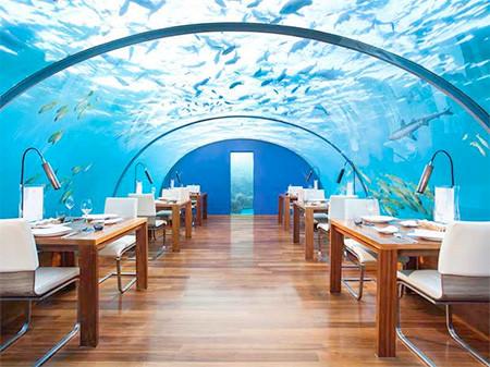水中レストラン04