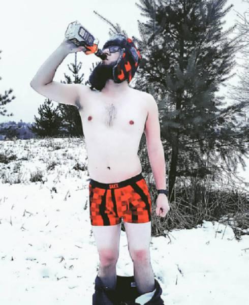 冬を楽しむカナダの人達の画像(13枚目)