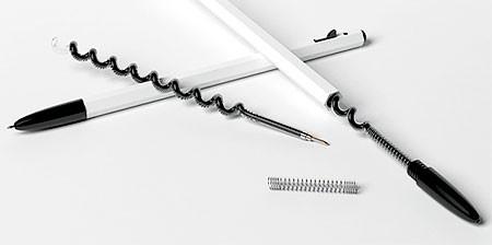 【画像】いつもより2倍長持ちするボールペン!!の画像(1枚目)