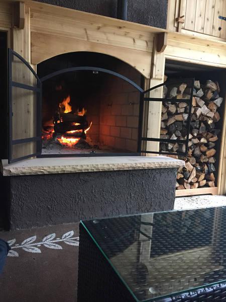 ロマンを感じる!自宅に追加で作った暖炉が凄い!!の画像(19枚目)