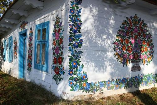 お花がプリントしてある可愛い家の画像(5枚目)