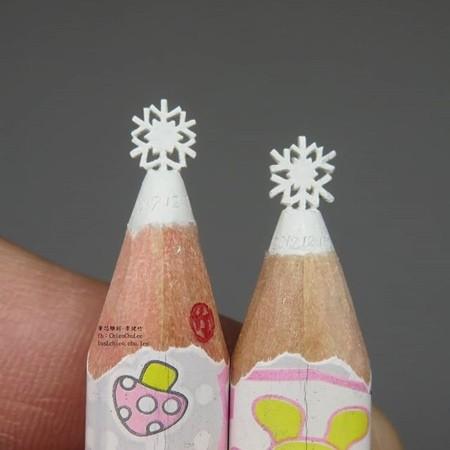 鉛筆の芯の彫刻03