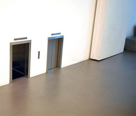 ミニチュアのエレベータ02