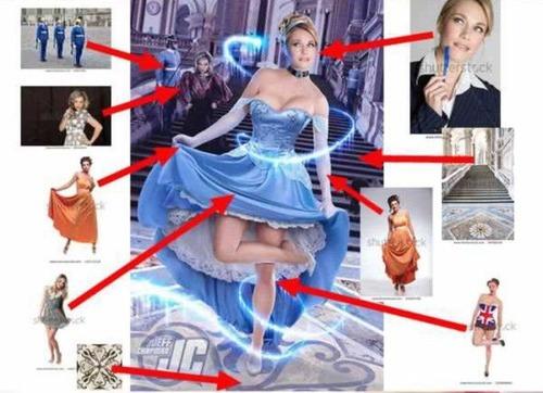 セクシーな女性のポスターの作成方法がよく分かる画像!の画像(8枚目)