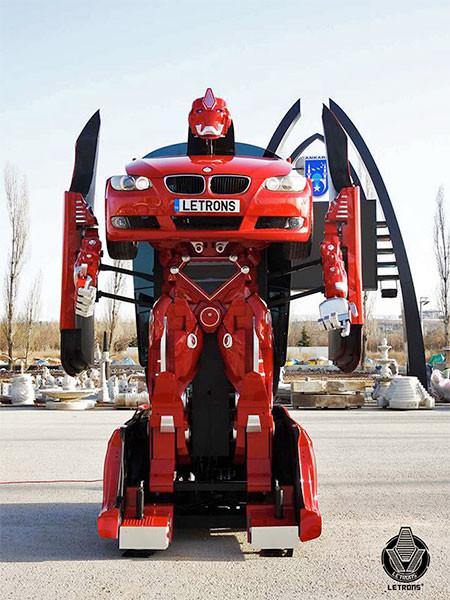 BMWで作ったトランスフォーマーの画像(4枚目)