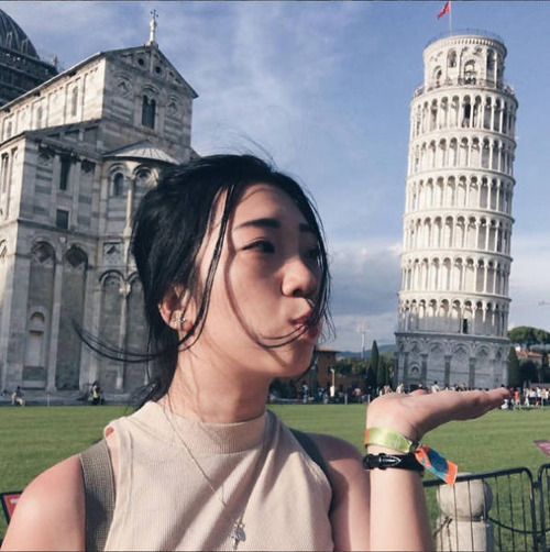 ピサの斜塔の記念撮影の画像(28枚目)