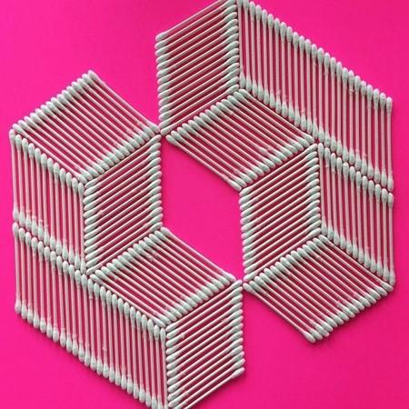 幾何学模様の美しいオブジェ02
