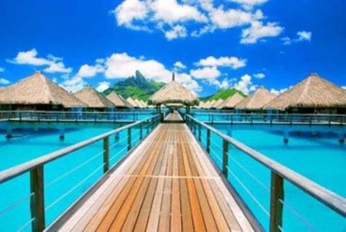 【画像】地上最後の楽園と呼ばれている「ボラボラ島」の絶景!の画像(6枚目)