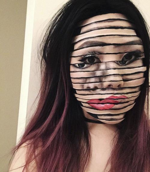 美人なのに怖すぎるフェイスペイントの画像(18枚目)