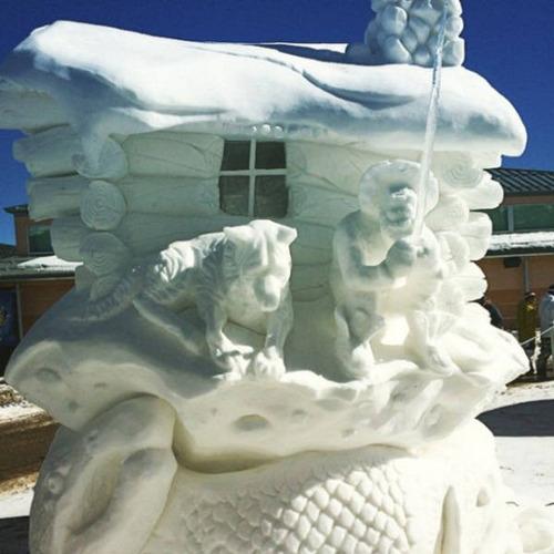 【画像】海外の雪祭りとか色々な雪像がやっぱ海外って感じで面白いwwwの画像(35枚目)