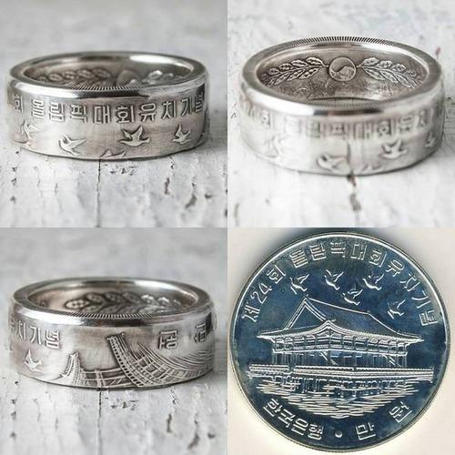 昔のコインを加工したアクセサリの画像(18枚目)