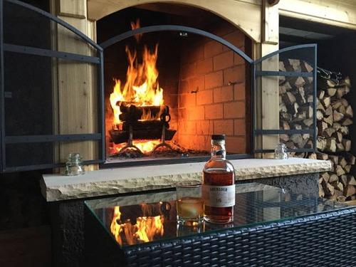 ロマンを感じる!自宅に追加で作った暖炉が凄い!!の画像(24枚目)