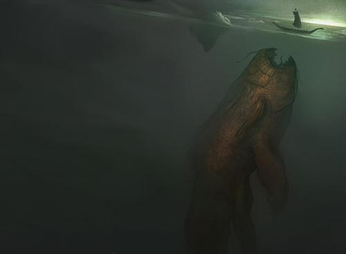 幻想的でドキドキする超巨大生物の壁紙!の画像(14枚目)