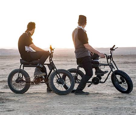 【画像】気分はアウトロー!バイクのように乗れる電動自転車!!の画像(10枚目)