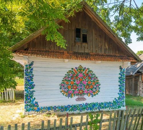 お花がプリントしてある可愛い家の画像(19枚目)