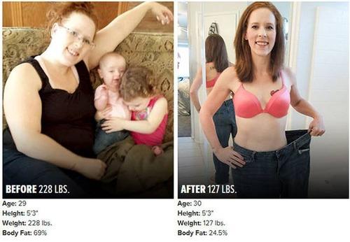 やればデキル!ダイエット肉体改造のビフォーアフターの画像の数々!!の画像(6枚目)