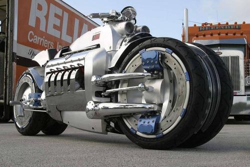 世界に10台5500万円のバイク!ダッジ・トマホークがやっぱり凄い!!の画像(7枚目)