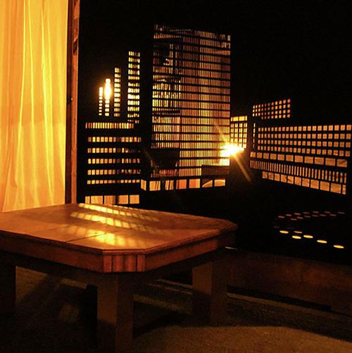 夜景のような景色のカーテンの画像(8枚目)