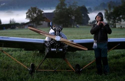 自作の飛行機で会社に通勤の画像(4枚目)