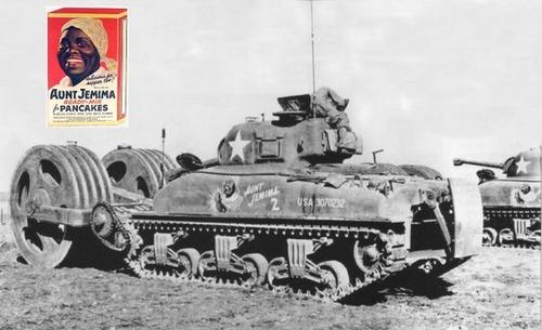 撤去は大変…昔の地雷処理戦車の画像の数々!!の画像(13枚目)