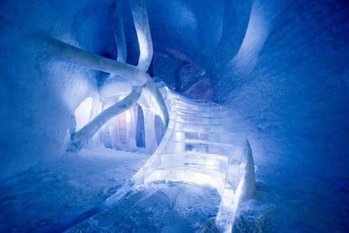 氷でできた極寒のホテルの画像(8枚目)