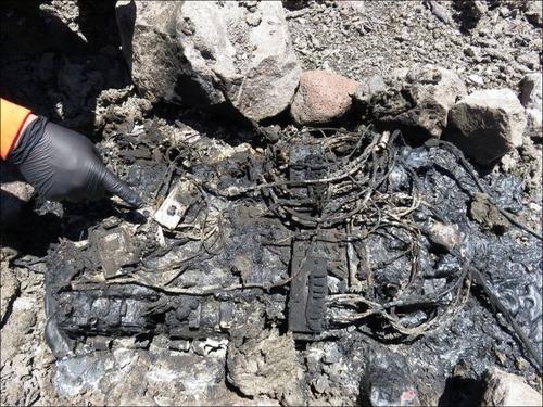 キラウエア火山から海に流込む溶岩の画像(13枚目)