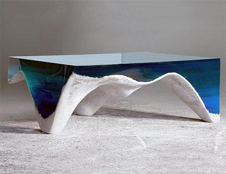 【画像】まるで深海そのもの!深い海の底のようなテーブルが凄い!!の画像(10枚目)