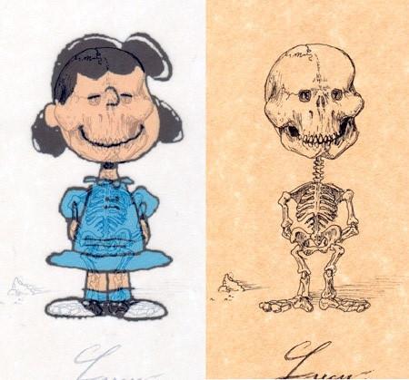 アニメや漫画のキャラクターの骨格のイメージ画像が凄いwwwの画像(13枚目)