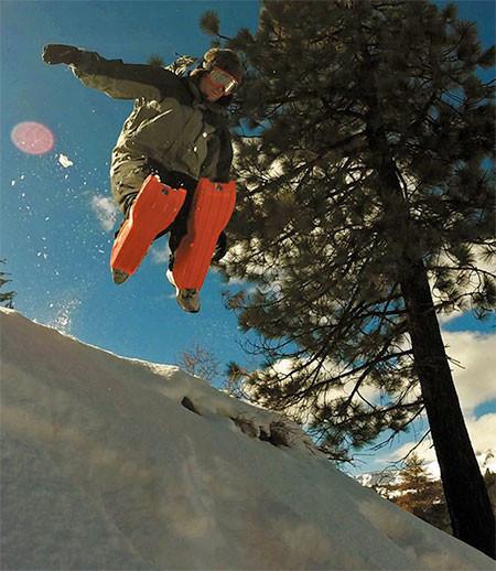 走って!跳んで!滑れる!新感覚のソリ「SLED LEGS」が楽しそうwwwの画像(10枚目)