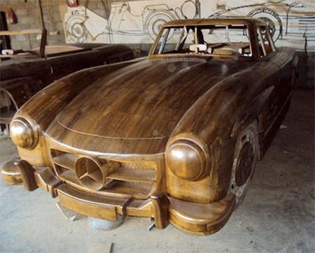 木製のメルセデス・ベンツ02