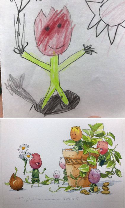 子供の落書きのキャラの画像(4枚目)