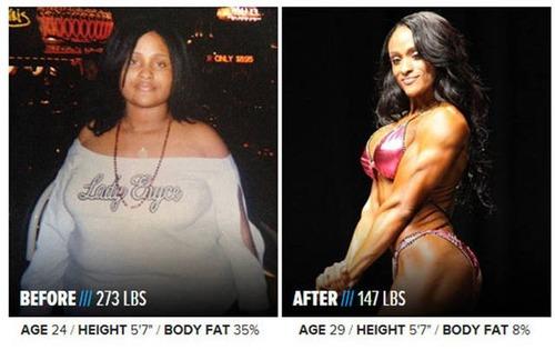 やればデキル!ダイエット肉体改造のビフォーアフターの画像の数々!!の画像(19枚目)